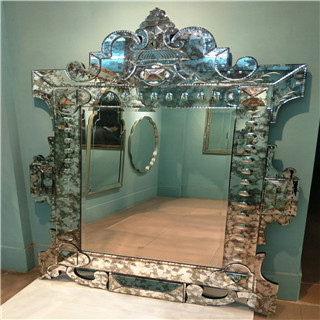Luxurious antique devorative wall mirror with convex for livingroom/bathroom/dining room