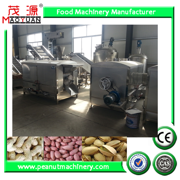 stainless steel batch roaster/rotary drum roaster/peanut roaster (roasting) machine