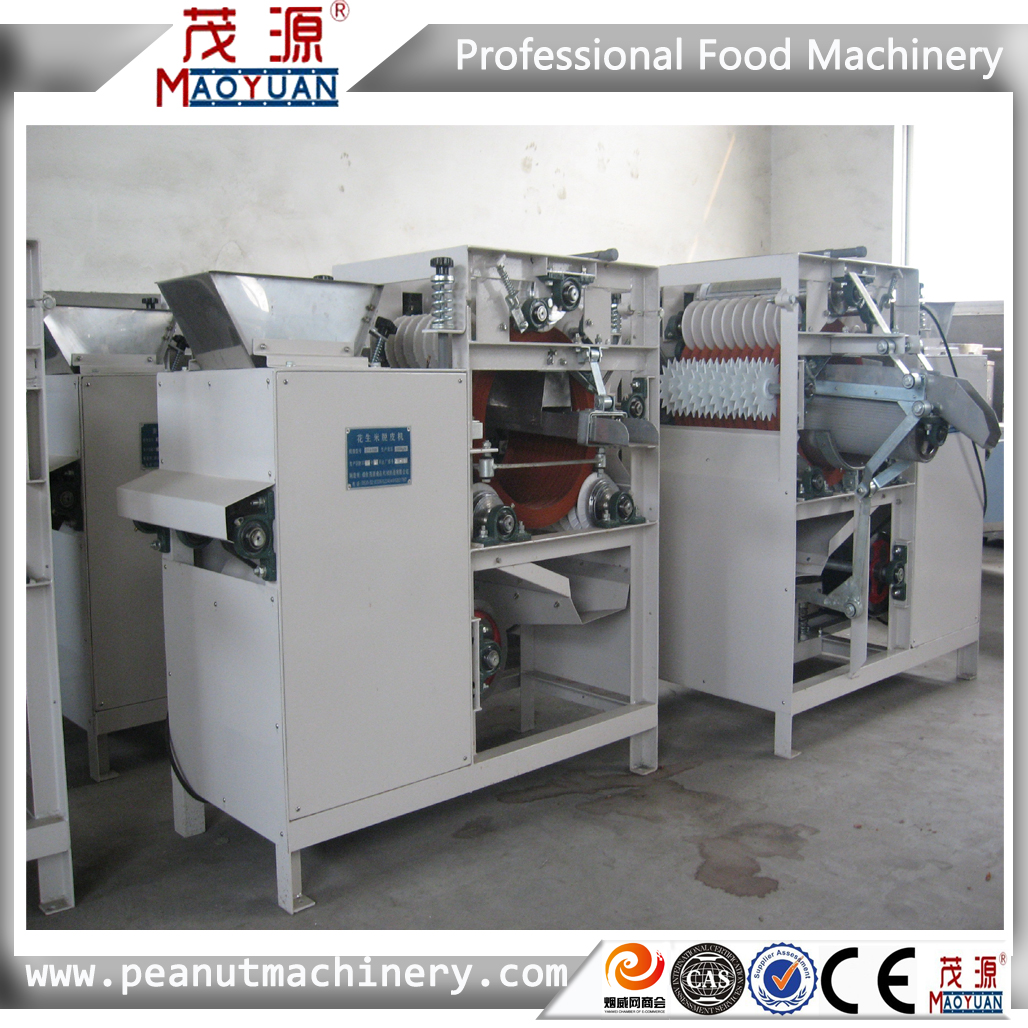 New type DTJG Split peanut peeling machine/Split Dry peanut peeler machine supplier