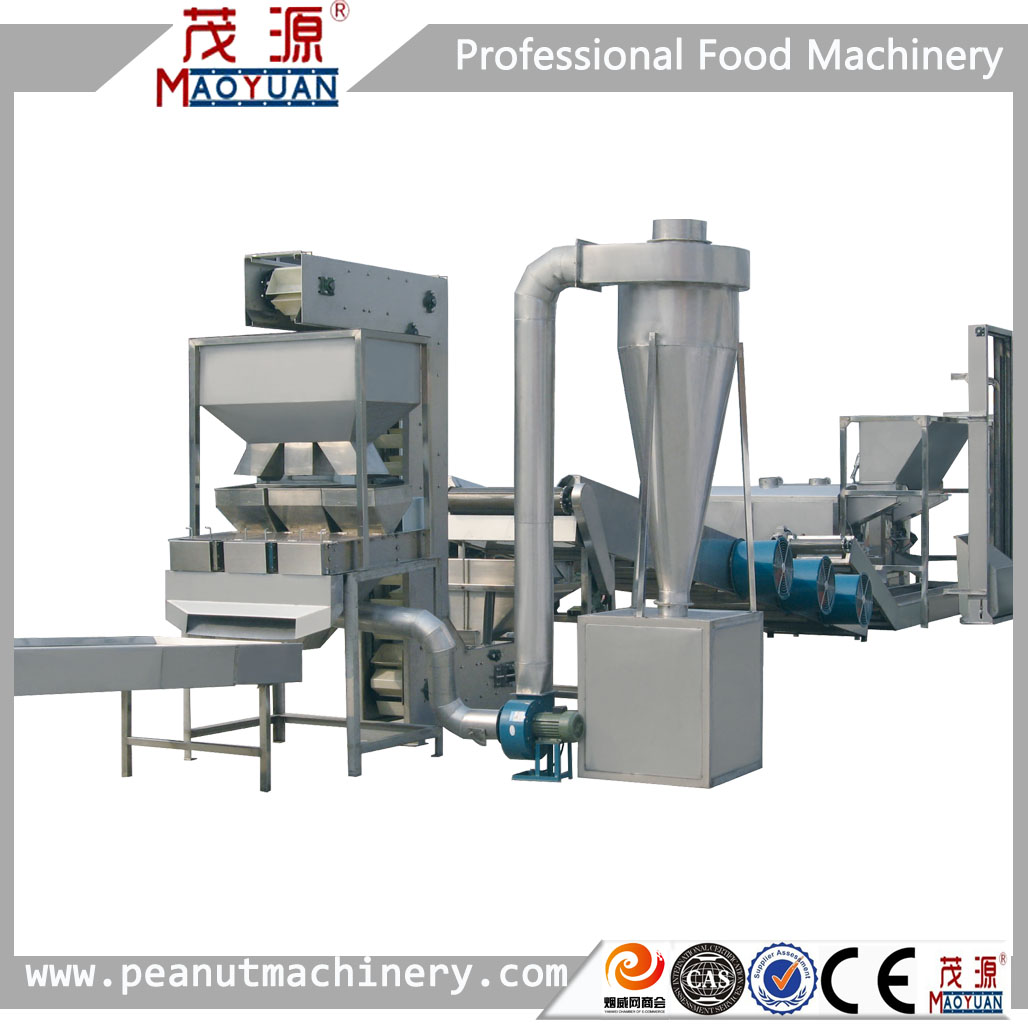 Best-selling factory direct supply Blanched peanut production line/peanut red skin blancher/blanched peanut equipment manufacturer