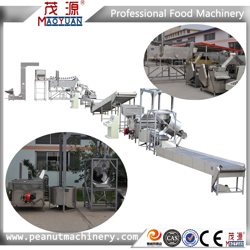 Factory Supplier Low Price roasted and salted peanut production line/processing line/production equipment