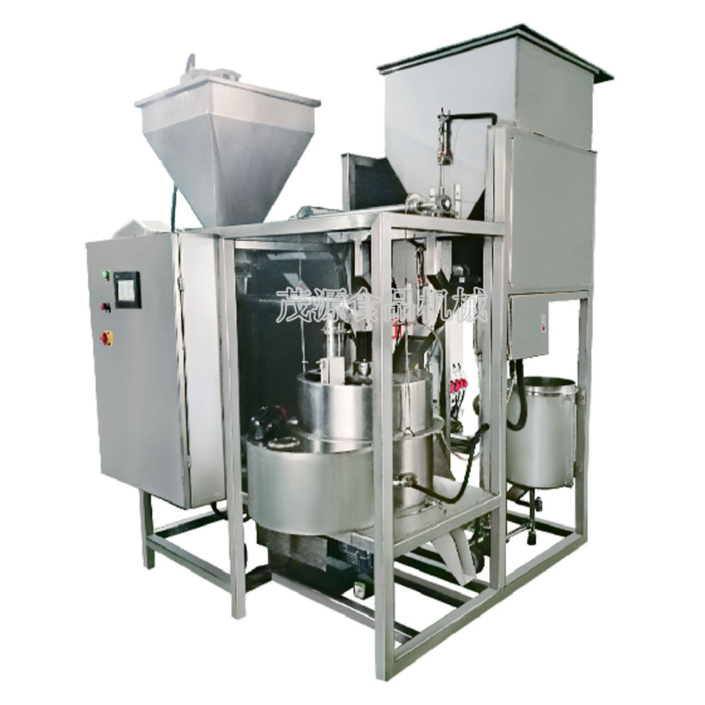 automatic Centrifugal batch peanut coating machine/ equipment coated peanut processing machine
