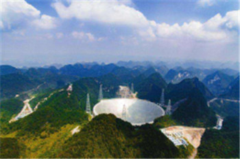 China eye area telescope