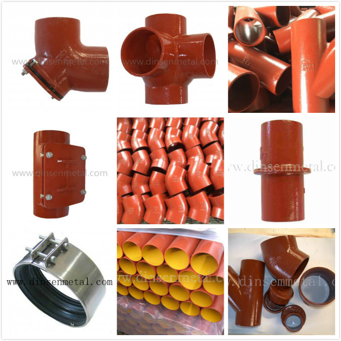 SML KML TML BML Cast iron drainage pipe system