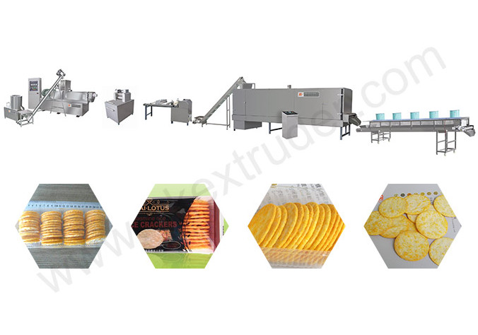 Rice Crackers Production Line