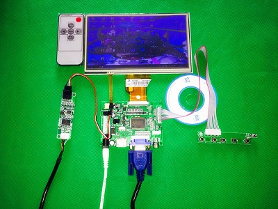 INNOLUX 7 inch TFT  AT070TN92 LCD