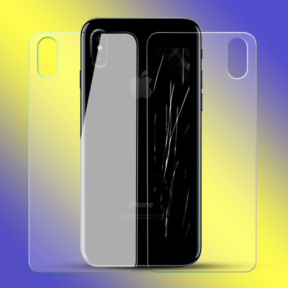China Manufacturer Anti-Shock 2.5D Curved Full Cover Front & Back Tempered Glass Screen Protector For iPhoneX