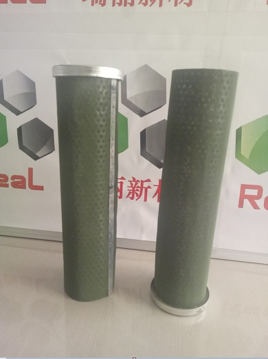 Superoleophylic and Superhydrophobic Filter Cartridge