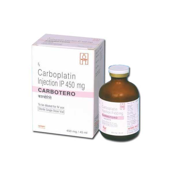 Carbotero Carboplatin 450mg Injection Details and Price