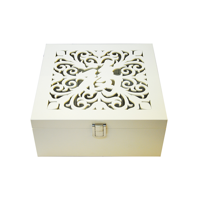 Wholesale fashional wooden jewerly packaging gift boxes