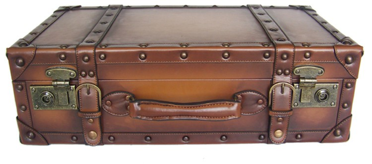 New china products sale OEM wooden suitcase box