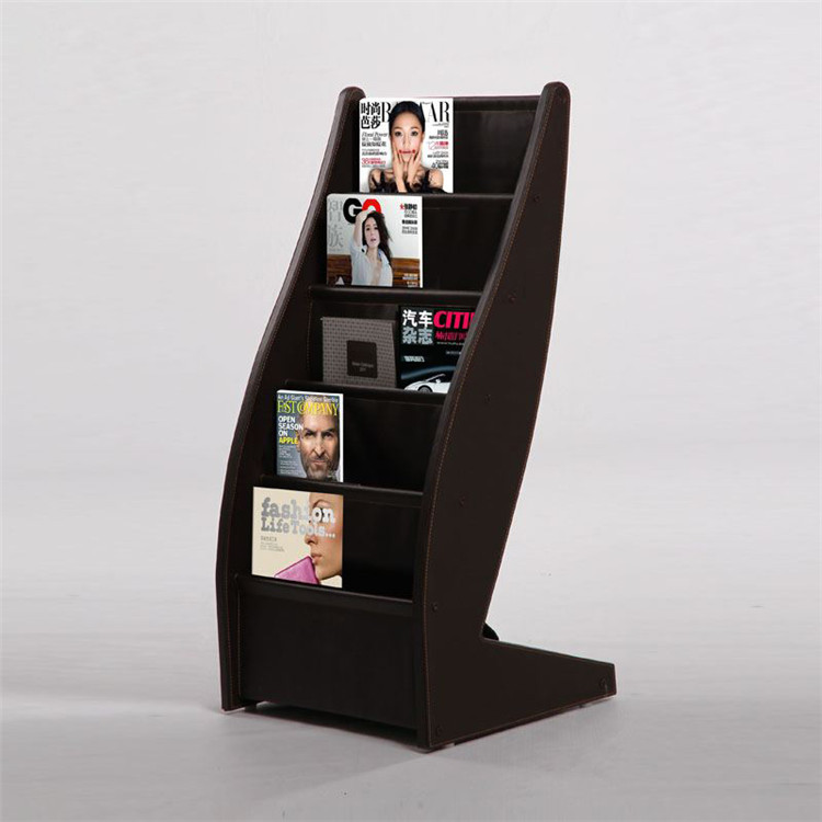 High quality wooden library book display stand