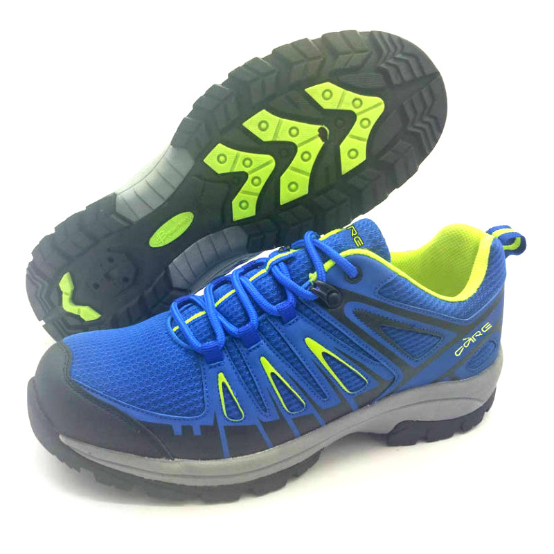 Navy synthetic and textile upper outdoor shoes