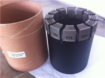 PQ Diamond core drill bit  for geological drilling