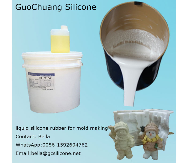 Factory price rtv2 silicone rubber for crafts molding
