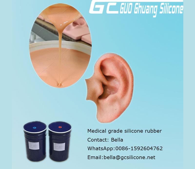 Cheap price Platinum cure rtv2 silicone rubber for body