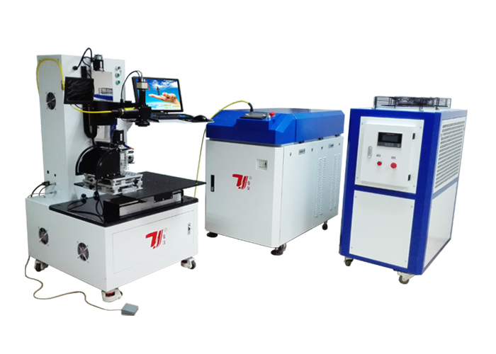 High Power Fiber Laser Welding Machine 600W 300 * 300mm Laser Soldering Equipment