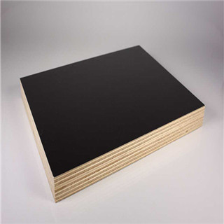 Black single or both side film faced plywood