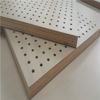 Factory direct sales Porous sound-absorbing plywood