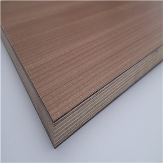 High temperature resistant HPL faced plywood