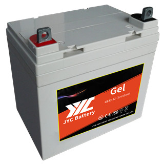 12V 33ah inverter AGM gel solar battery used for solar panel