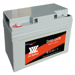 deep cycle VRLA AGM battery 12v 65ah for ups system / data center battery