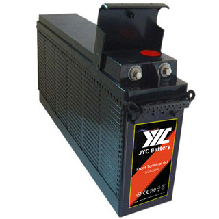 JYC 12V 125AH storage front terminal GEL battery for solar system