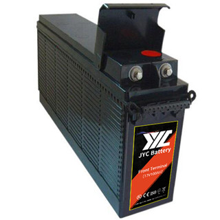 JYC 12V 100AH narrow size Front Terminal Energy Storage VRLA Sealed Lead Acid AGM UPS Battery