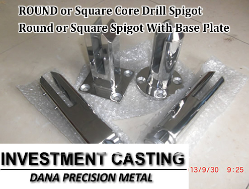 Round or square core drill spigot in China
