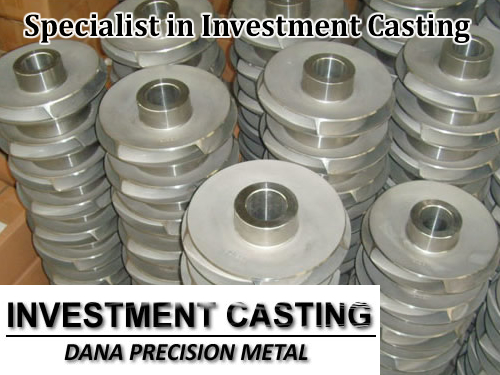 Specialist in investment casting in China
