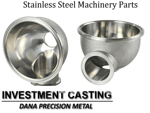 China supplier stainless steel precision machinery casting parts