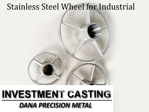 Stainless Steel Wheel for Industrial