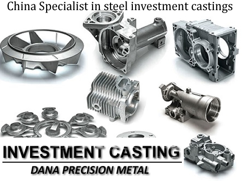 Custom Precision Stainless Steel Investment Casting