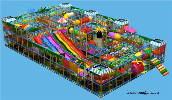 Outdoor Playground and Indoor Playground