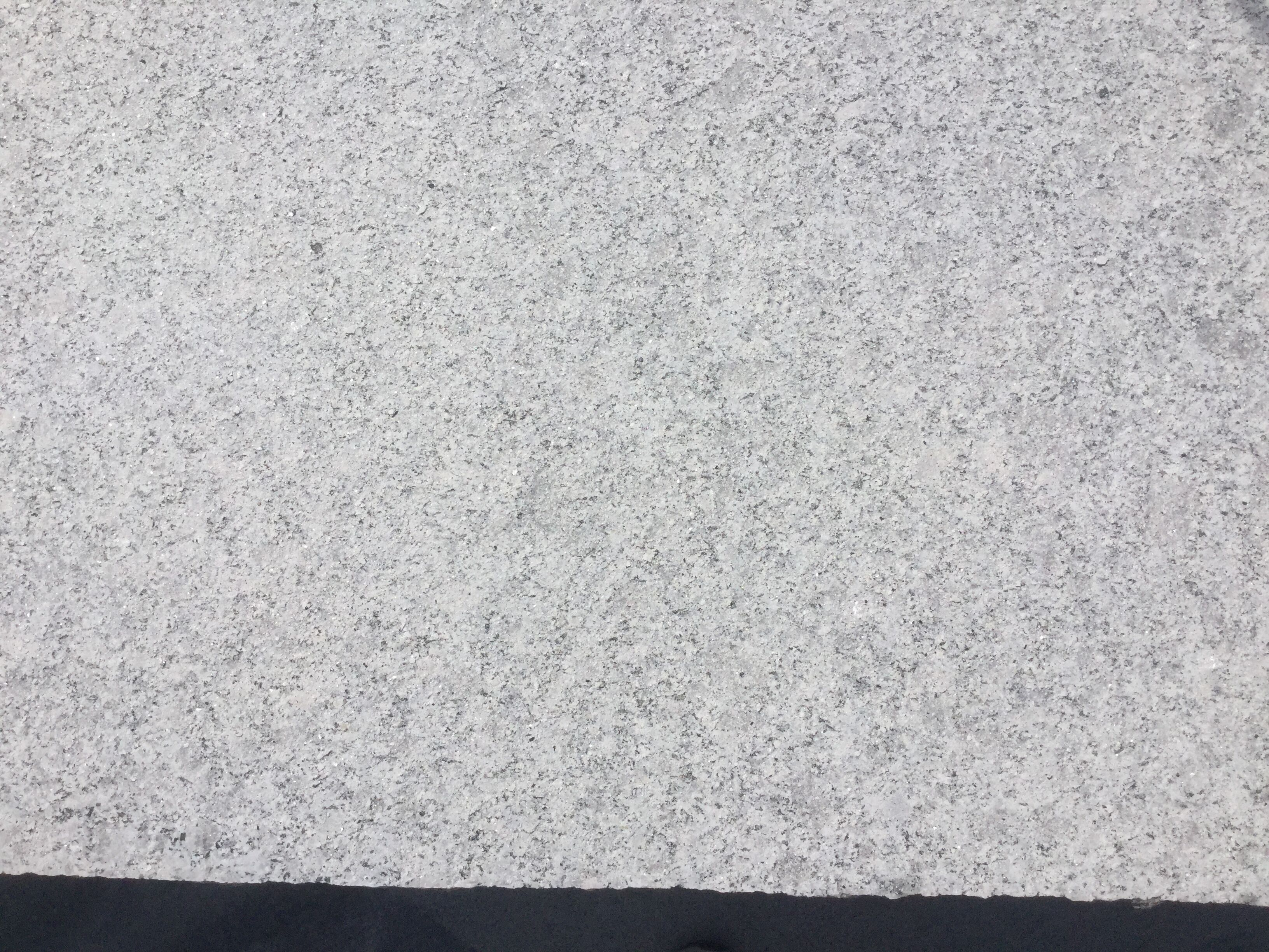 Low price light grey pearl flower granite Kerb supplier For Exterior Walls