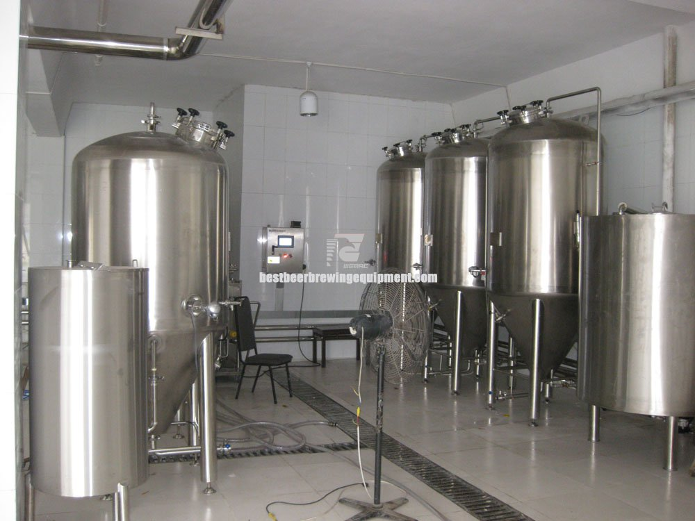 100 gallon beer brewing system