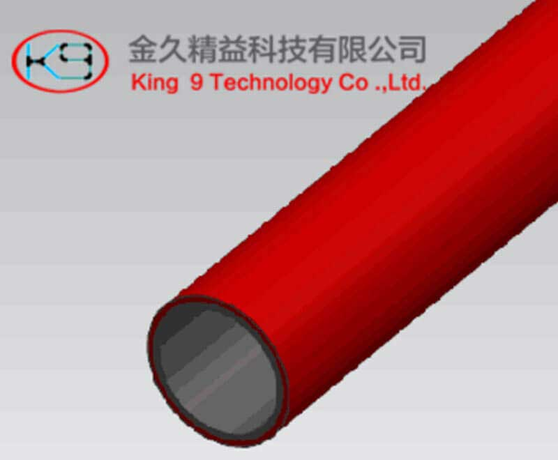 PE Coated Lean Tube (KJ-2010RE