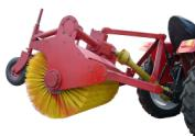 tractor driving full automatic Snow sweeper for sale