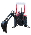 high quality Backhoe/3 point towable backhoe/tractor PTO backhoe in China