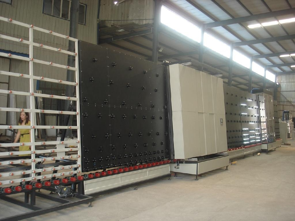insulating glass machine, insulating glass production line, double glazing machine