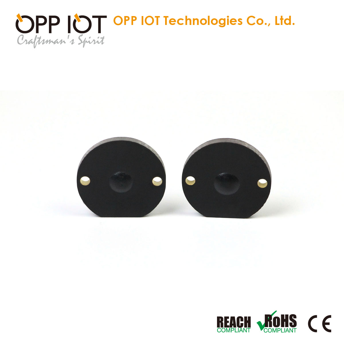 860-960MHz PCB Industrial Asset Tracking Metal Tag