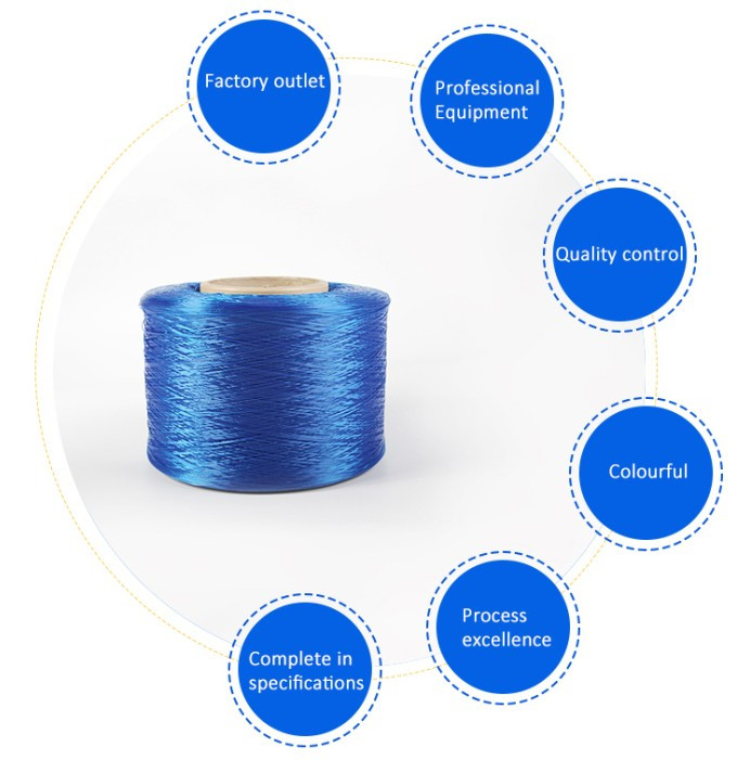 High tenacity super quality polypropylene multifilament fdy pp yarn