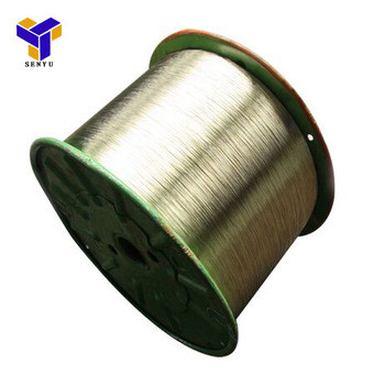Strong breaking strength brass coated steel cord Manufacturer supply