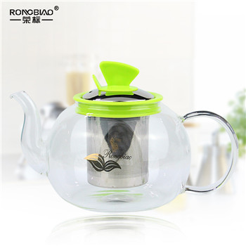 Large capacity high borosilicate electric pottery bubble teapot