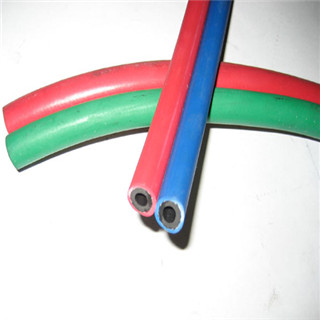 Sigle Two Line European Standard Welding Hose With Smooth Surface