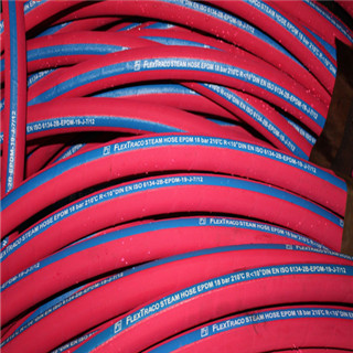 Hot Selling High Temperature One/Two Steel Wires Steam Rubber Hose
