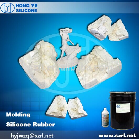 rtv silicone rubber for mould silicone sculpture