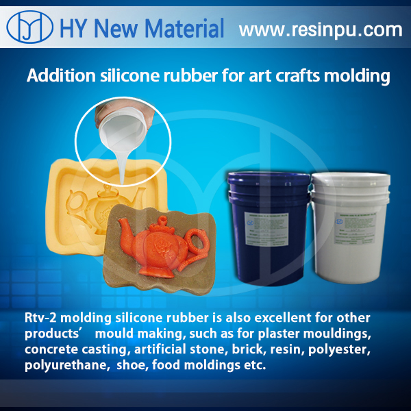 condesation silicone rubber for toys & soap &crafts