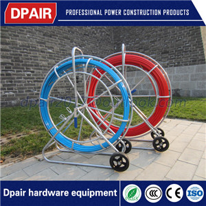 fiberglass cable snake duct rodder for underground cable installation