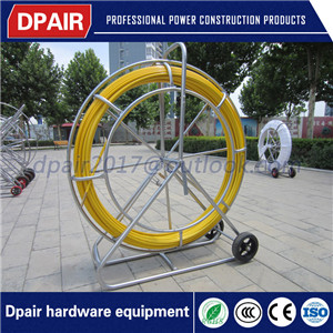 reel duct rodder with wheels